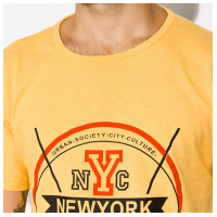 Хлопковая мужская футболка 134P016