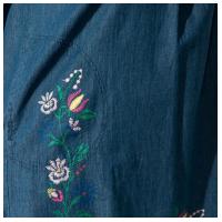 Пляжное платье с принтом 120PFL164105-2