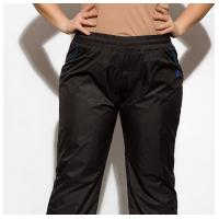 Спортивные брюки из плащевой ткани 146P16777
