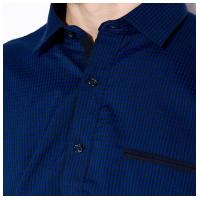 Рубашка с коротким рукавом в клетку 120PAR372-21