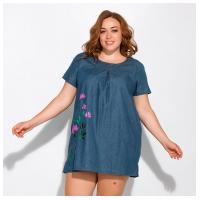 Пляжное платье с цветочным принтом 120PFL164105-1
