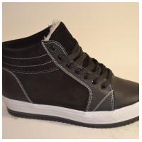 Ботинки кожаные черные SW50a 36-39 (Пара)