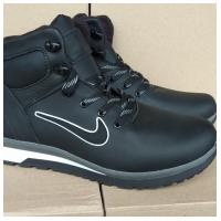 Ботинки кожаные черные NIKE N3 40-45 (Пара)