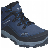 Ботинки кожаные синие SALOMON S11c 40-45 (Пара)