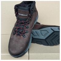 Ботинки кожаные коричневые UA2 40-45 (Пара)