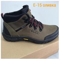 Ботинки кожаные оливковые ECCO E15b 40-45 (Пара)