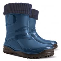 Резиновые сапоги синие Young 2 fur DEMAR 36-42 (Пара)