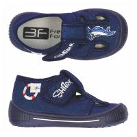 Тапочки текстильные синие SATURN 2SK25/3 3F 22-27 (Пара)