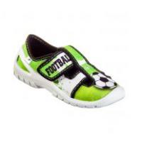 Тапочки текстильные зеленые SATURN 3RX5/6 3F 25-30 (Пара)