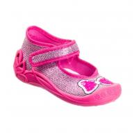 Тапочки текстильные розовые PCHOLKA 1F2/5 3F 20-25 (Пара)