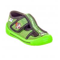 Тапочки текстильные зеленые SATURN 2SK25/2 3F 22-27 (Пара)