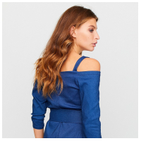 Платье Майя, синий