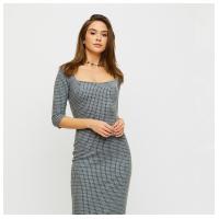 Платье Франческа, светло-серый