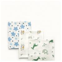 Комплект пеленок ситцевих для мальчика
