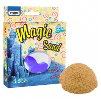 """Кинетический песок """"Magic sand"""" 150 г. в коробке   STRATEG"""