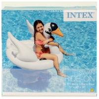 """Надувной """"Лебедь"""" в коробке  130*102*99 см.   INTEX"""