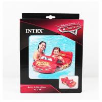 """Надувной плотик """"Тачка"""" в коробке   INTEX"""