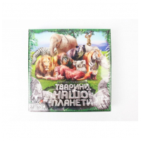 """Игра """"Животные нашей планеты"""" в зелёной коробке   ДАНКО-ТОЙС"""