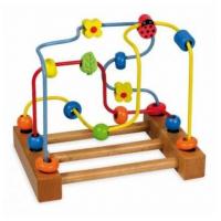 BABY MIX Деревянная спираль логика в коробке