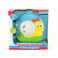 BABY MIX Муз. проектор - улитка в коробке