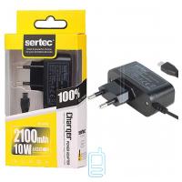Сетевое зарядное устройство Sertec ST-034 2.1A micro-USB black