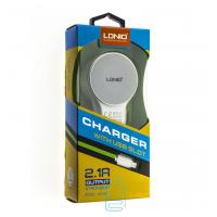 Сетевое зарядное устройство LDNIO A2269 2USB 2.1A micro-USB white
