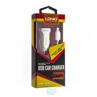 Автомобильное зарядное устройство LIDNIO DL-C17 1USB 1.0A micro-USB white