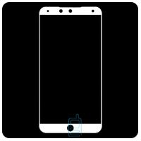 Защитное стекло Full Screen Meizu 15 white тех.пакет