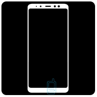 Защитное стекло Full Screen Samsung A8 2018 A530 white тех.пакет
