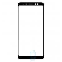 Защитное стекло Full Screen Samsung A8 2018 A530 black тех.пакет