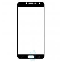 Защитное стекло Full Screen Samsung J4 2018 J400 black тех.пакет
