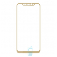 Защитное стекло Full Screen Xiaomi Mi 8, Mi 8 Pro gold тех.пакет
