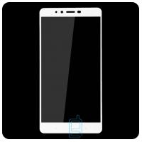 Защитное стекло Full Screen Xiaomi Redmi Note 2, Note 2 Prime white тех.пакет