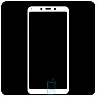 Защитное стекло Full Screen Xiaomi Redmi 6, 6A white тех.пакет