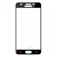 Защитное стекло Full Screen Samsung J3 2018 J337 black тех.пакет