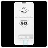Защитное стекло 5D Xiaomi Redmi Note 6 white тех.пакет
