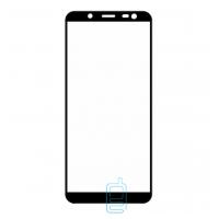 Защитное стекло Full Screen Samsung J8 2018 J810 black тех. пакет