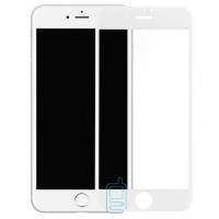 Защитное стекло Full Screen Apple iPhone 7, iPhone 8 white тех.пакет