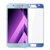 Защитное стекло Full Screen Samsung A3 2017 A320 blue тех.пакет