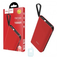 Power Bank Hoco J25A With Cable Micro 10000 mAh Original красный
