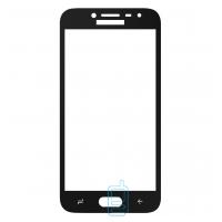 Защитное стекло Full Glue Samsung J2 2018 J250, J2 Pro 2018 black тех.пакет