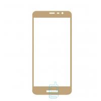 Защитное стекло Full Glue Samsung J2 Core J260 gold тех.пакет