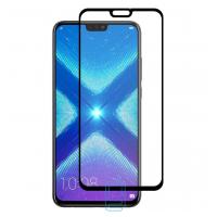 Защитное стекло Full Glue Huawei Honor 8X black тех.пакет