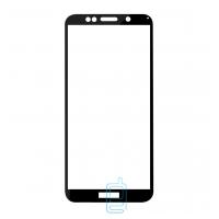 Защитное стекло Full Glue Huawei Y5 2018, Y5 Prime 2018, Y5 Lite 2018 black тех.пакет