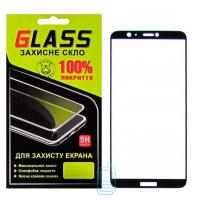 Защитное стекло Full Glue Huawei P Smart, Enjoy 7s black Glass