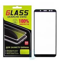 Защитное стекло Full Glue Samsung J6 2018 J600 black Glass