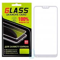 Защитное стекло Full Glue Xiaomi Redmi 6 Pro, Mi A2 Lite white Glass