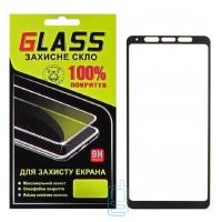 Защитное стекло Full Glue Samsung A9 2018 A920 black Glass