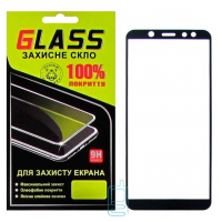 Защитное стекло Full Glue Samsung A6 2018 A600 black Glass