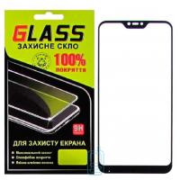 Защитное стекло Full Glue Xiaomi Redmi 6 Pro, Mi A2 Lite black Glass